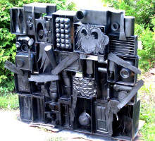 Louse Nevelson Sky Cathedral